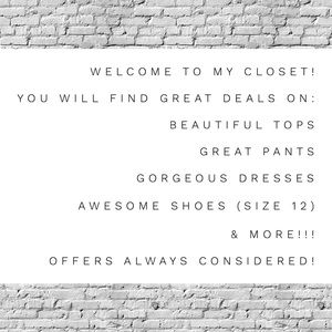 Welcome to my closet!! ✨👗👠👚👖⭐️